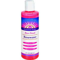 HGR0584904 - Heritage Products - Rose Petals Rosewater - 8 fl oz