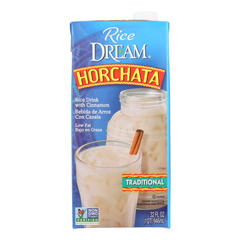 HGR0586339 - Imagine Foods - Rice Dream Traditional Rice Drink - Horchata - Case of 6 - 32 Fl oz..