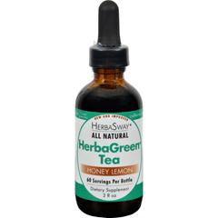 HGR0586552 - HerbaswayLaboratories HerbaGreen Tea Honey Lemon - 2 fl oz