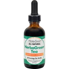 HGR0586578 - HerbaswayLaboratories HerbaGreen Tea Mandarin Mango - 2 fl oz