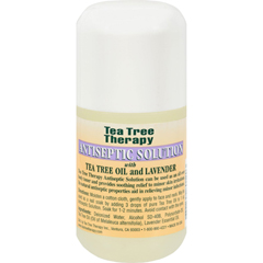 HGR0587840 - Tea Tree TherapyAntiseptic Solution Tea Tree Oil and Lavender - 4 fl oz