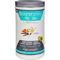 HGR0589788 - Designer WheyProtein Powder Vanilla Almond - 1.9 lbs