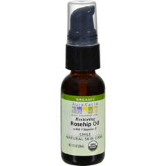 HGR0590703 - Aura CaciaRosehip Seed Skin Care Oil Certified Organic - 1 fl oz