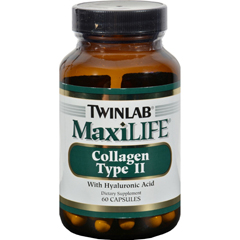 HGR0590786 - TwinlabMaxiLIFE Collagen Type II - 60 Capsules