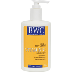 HGR0591057 - Beauty Without CrueltyHand and Body Lotion Vitamin C Organic - 8.5 fl oz