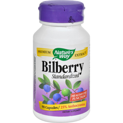 HGR0591321 - Nature's WayBilberry Standardized - 80 mg - 90 Capsules
