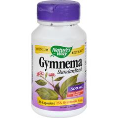 HGR0591628 - Nature's WayGymnema Standardized - 60 Capsules
