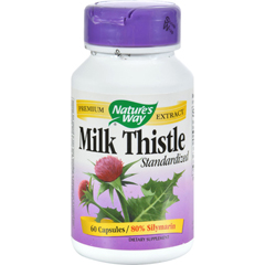HGR0591727 - Nature's WayMilk Thistle Standardized - 60 Capsules