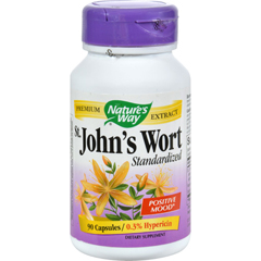 HGR0591826 - Nature's WaySt Johns Wort Standardized - 90 Capsules