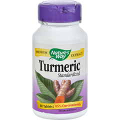HGR0591842 - Nature's WayTurmeric Standardized - 60 Tablets