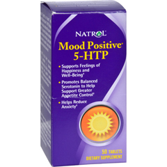 HGR0592832 - NatrolMood Positive 5-HTP - 50 Tablets