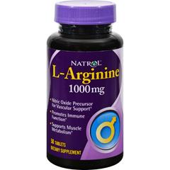 HGR0593202 - NatrolL-Arginine - 1000 mg - 50 Tablets