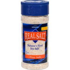 HGR0596890 - Real SaltNatures First Sea Salt Fine Salt - 9 oz - Case of 12