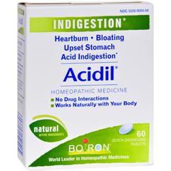 HGR0598961 - BoironAcidil - 60 Tablets
