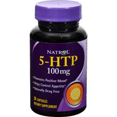 HGR0600379 - Natrol5-HTP - 100 mg - 30 Capsules