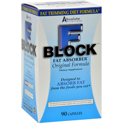 HGR0602151 - Absolute NutritionFBlock Fat Absorber - 90 Caps