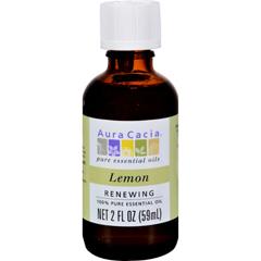 HGR0604298 - Aura Cacia - Essential Oil - Lemon - 2 fl oz