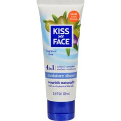 HGR0606277 - Kiss My FaceMoisture Shave Fragrance Free - 3.4 fl oz