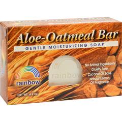 HGR0606707 - Rainbow ResearchBar Soap Aloe Oatmeal - 4 oz