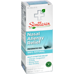 HGR0608166 - SimilasanNasal Allergy Relief - 0.68 fl oz