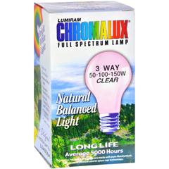 HGR0608356 - ChromaluxStandard Clear 3 Way Light Bulb - 1 Bulb