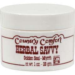 HGR0608877 - Country ComfortHerbal Savvy Golden Seal-Myrrh - 2 oz