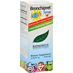 HGR0610030 - Sinupret By BionoricaSinupret Bronchipret Syrup For Kids - 3.38 fl oz