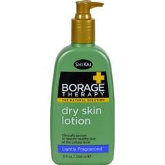 HGR0611400 - Shikai ProductsShikai Borage Therapy Dry Skin Lotion Lightly Fragranced - 8 fl oz