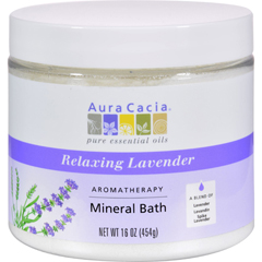 HGR0611848 - Aura CaciaAromatherapy Mineral Bath Lavender Harvest - 16 oz
