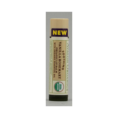 HGR0611855 - AvalonOrganics Soothing Organic Rosemary Lip Balm Vanilla - 0.15 oz - Case of 24