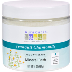 HGR0612085 - Aura CaciaAromatherapy Mineral Bath Tranquility Chamomile - 16 oz