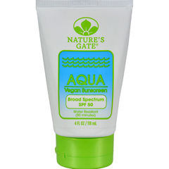 HGR0612960 - Nature's GateAqua Block Sunscreen SPF 50 Fragrance Free - 4 fl oz