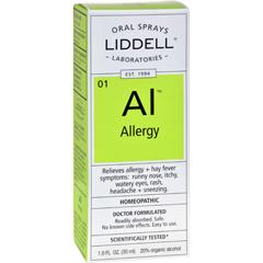 HGR0614263 - Liddell HomeopathicOral Allergy Spray - 1 fl oz
