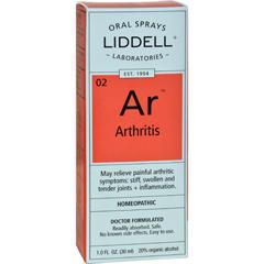 HGR0614321 - Liddell HomeopathicArthritis Spray - 1 fl oz