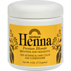 HGR0616029 - Rainbow ResearchHenna 100% Botanical Hair Color and Conditioner - Persian Blonde - 4 oz