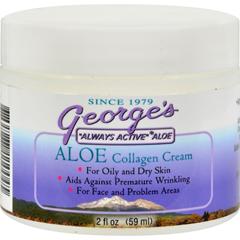 HGR0616433 - George's Aloe VeraCollagen Cream - 2 oz
