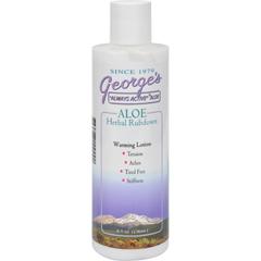 HGR0616532 - George's Aloe VeraHerbal Rubdown - 8 fl oz