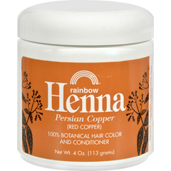 HGR0617027 - Rainbow ResearchHenna Hair Color and Conditioner Persian Copper Red Copper - 4 oz