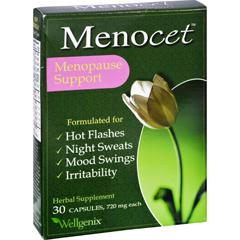 HGR0617530 - WellgenixMenocet Menopause Support - 720 mg - 30 Capsules