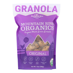 HGR0619668 - Mountain Rise - Mountain Rise Granola Original - Granola - Case of 6 - 13 oz..