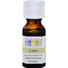 HGR0620542 - Aura CaciaPure Essential Oil Lime - 0.5 fl oz
