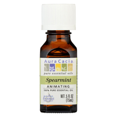 HGR0620781 - Aura Cacia - Essential Oil Spearmint - 0.5 fl oz