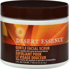 HGR0621284 - Desert EssenceFacial Scrub Gentle Stimulating - 4 fl oz