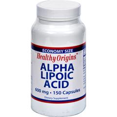 HGR0621524 - Healthy OriginsAlpha Lipoic Acid - 600 mg - 150 Capsules