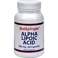 HGR0621631 - Healthy OriginsAlpha Lipoic Acid - 600 mg - 60 Capsules