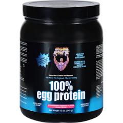HGR0625038 - Healthy 'N Fit100 Percent Egg Protein - Strawberry Passion - 12 oz