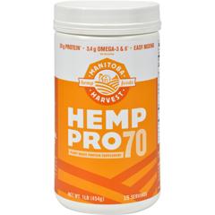 HGR0627505 - Manitoba HarvestHemp Pro 70 - 16 oz
