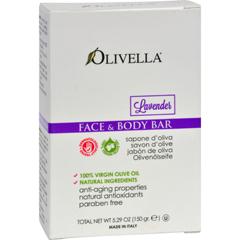 HGR0627752 - OlivellaFace and Body Bar Soap Lavender - 5.29 oz