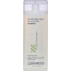 HGR0628149 - Giovanni Hair Care ProductsGiovanni Shampoo Tea Tree Triple Treat - 8.5 fl oz