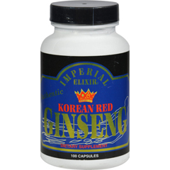 HGR0629733 - Imperial ElixirKorean Red Ginseng - 300 mg each - 100 Capsules